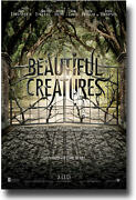 Emmy Rossum Emma Roberts Beautuful Creatures 27x41 Authentic Double Sided Poster
