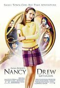 Emma Roberts Nancy Drew 27x41 Authentic Double Sided Theatre Poster