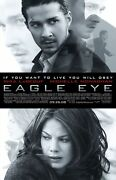 Shia Labeouf Eagle Eye 27x41 Authentic Double Sided Theatre Poster