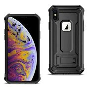 Iphone Xs Max Case With Kickstand In Black