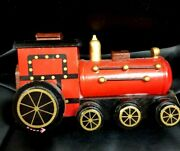 Vintage Christmas Train Music Box Looks And Sounds Wonderful Great Gift Idea
