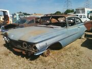 1959 Oldsmobile Dynamic 88 Right Door Hinge Parting Out Complete Car