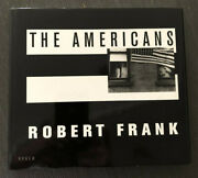 Robert Frank Signed Hardcover Book The Americans 1st Edition Scalo 1993 Perfect