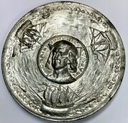 Christopher Columbus 1892 Medal From New York Committee Of 100