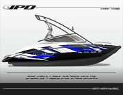 Ipd Boat Graphic Kit For Yamaha Sx190, Sx192, Ar190 And Ar192 Gh Design