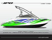 Ipd Boat Graphic Kit For Yamaha Sx190, Sx192, Ar190 And Ar192 Ob Design