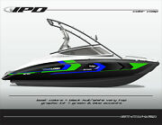 Ipd Boat Graphic Kit For Yamaha 212x 212ss Sx210 And Ar210 Kw Design
