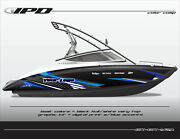 Ipd Boat Graphic Kit For Yamaha Sx190, Sx192, Ar190 And Ar192 Bk Design