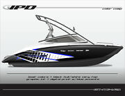 Ipd Boat Graphic Kit For Yamaha 212x, 212ss, Sx210, And Ar210 Kc Design