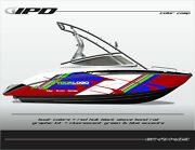 Ipd Boat Graphic Kit For Yamaha Sx190, Sx192, Ar190 And Ar192 Rm Design