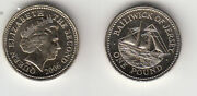 Jersey Coin One Pound 2006 £1 Unc Condition This Is The Key Date