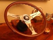 Wood Steering Wheel Fits Mercedes 500sl 1980-1989 Nardi 15.3 New