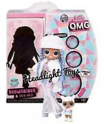 1 Lol Surprise Snowlicious Omg Fashion Doll And Snow Angel Series 1 Wave 2 In Hand