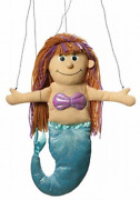 Silly Puppets Mermaid Peach Marionette String Puppet Sm3901