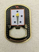 Army Support Starts Here Challenge Coin Can Opener