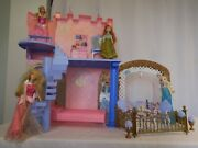 Barbie Sleeping Beauty Royal Castle And Doll Playset Very Rare