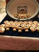 Vtg Drawer Knobs/pulls/international China Co./taiwan/27/screws Included/mint