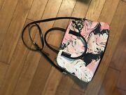 Kate Spade Handbag Used Pink And Black Authentic From Tanger Outlets