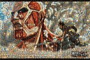 1000 Piece Jigsaw Puzzle March Of Giant Mosaic Art 50x75cmf/s
