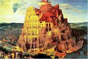 1000 Piece Jigsaw Puzzle Tower Of Babel 50x75cmf/s