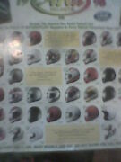 Motorcycle Poster Advertizing 1998 Arai Helmets 26and039and039x18and039and039
