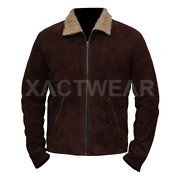The Walking Dead Rick Grimes Andrew Lincoln 100 Suede Leather Jacket Big Sale