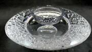 Orrefors Discus Votive Candle Holder Great Condition