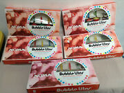 Vintage Noma Bubble Lites - 5 Box Lot Christmas Lights - 4 Working 1 For Repair
