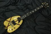 Used 1980and039s H.s.anderson Hs-a1 Houston-h Electric Guitar Bill Lawrence Pu W/gb