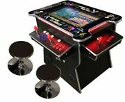 ✅ 4 Player Cocktail Arcade Machine🔥 2475 Classic Games ✅ 165lb Commercial 03wv