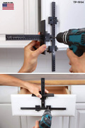 Original Cabinet Hardware Jig Tool, Drill Template Guide, Accurate Installations