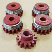 Kemppi / Boc / Nexus Mig Welder Wire Feed Rollers Set Of 4 Rollers And Gear