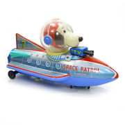 1960s Snoopy Space Patrol Robot Battery Toy Modern Toys Japan Rare