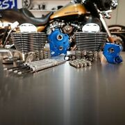 Sands 128 M8 Bolt On Big Bore Kit Granite Fin Gear Cam Chrome Rod Water Cooled