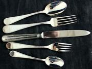 Towle Lockhart Silverplate 5 Piece Place Setting Showroom Inventory A+