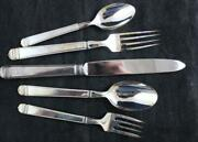 Towle Savannah Silverplate 5 Piece Place Setting Showroom Inventory A+