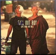 Pete Wentz Signed Fall Out Boy Save Rock And Roll 10 Lp Album