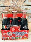 World Cup 94' Coca Cola Bottles Usa Mexico Brazil Argentina Italy Germany Coke