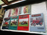 6 Magazines Red Power Magazine 2002 Complete Year Ih Collectors Tractor