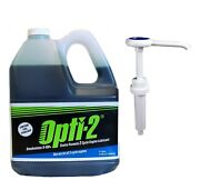 Opti-2® 2-cycle Engine Lubricant Mixing Oil 1.06 Gallon Jug And Pump 20044 / 21624