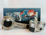 Je Ft Pistons Molnar Pwr Adr Rods For Bbc 6.535 Rods 4.500 10.01 Std Deck