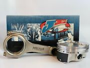Je Ft Pistons Molnar Pwr Adr Rods For Bbc 6.535 Rods 4.500 9.51 Std Deck