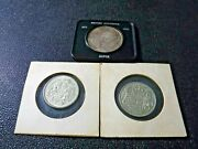 Lot Of 3 Canadian Coins 1871-1971 Dollar 1951 5o Cent 1963 50 Cent