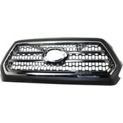 New Grille Grill Chrome For Toyota Tacoma 2016-2017 Fits To1200418 5310004520c8