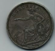Switzerland 1 Franc 1860 Bern Km 9 A One Quality Grade Silver Coin