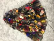 Peri Luxe Multi-color Fox Fur Lined Parka - Womenand039s M - Olive - New With Tags