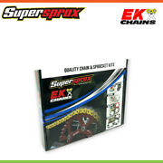 Ek Chain And Supersprox Sprocket Kit For Suzuki Gs1100e/gs1100g 80-86