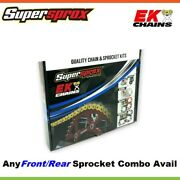 Ek Chain And Supersprox Sprocket Kit For Ktm 530/540/550 Exc/sxs/mxc 05-11/94-96