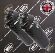 Ducati St2 1996-2003 Carbon Road Legal / Race Performance Exhausts Mufflers