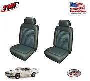 Dark Ivy Gold Front And Rear Seat Upholstery For 1969 Mustang Made In The Usa Tmi